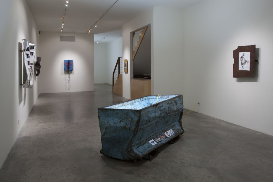 """""""New,"""" Installation view, Steve Turner Contemporary, Los Angeles, July 2014. Courtesy of Steve Turner Contemporary."""