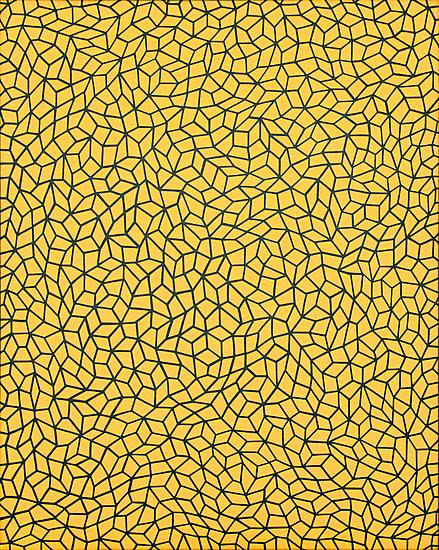 "Yayoi Kusama, ""Infinity Nets,"" Acrylic on canvas, 35 7/8 x 28 3/4 in., 1990."