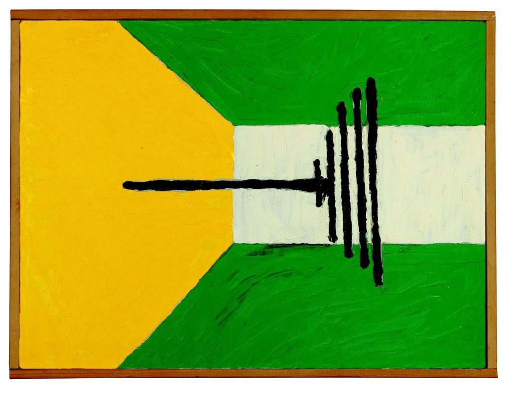 "Forrest Bess, ""The Penetrator"", 1967. Courtesy of Christie's, New York"