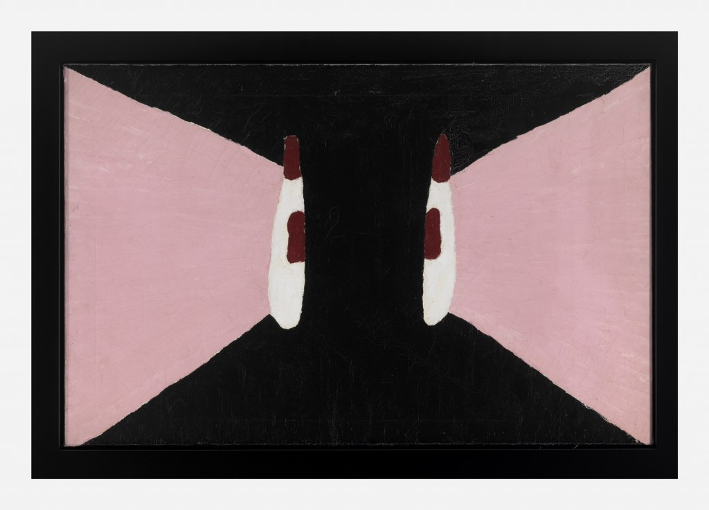 """Forrest Bess, """"Untitled (No.6)"""", 1959. Courtesy of Christie's, New York"""