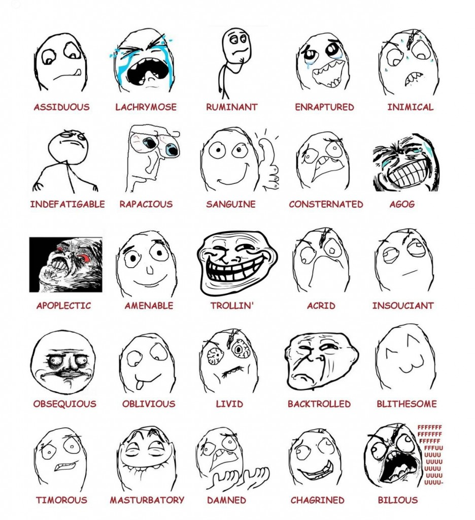 Rage Comics. Courtesy of knowyourmeme.com