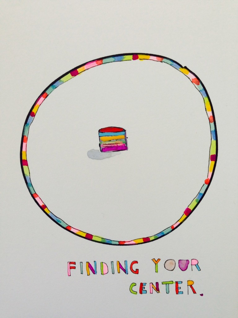 "Leah Rosenberg, ""Finding Your Center."" Courtesy of the artist."