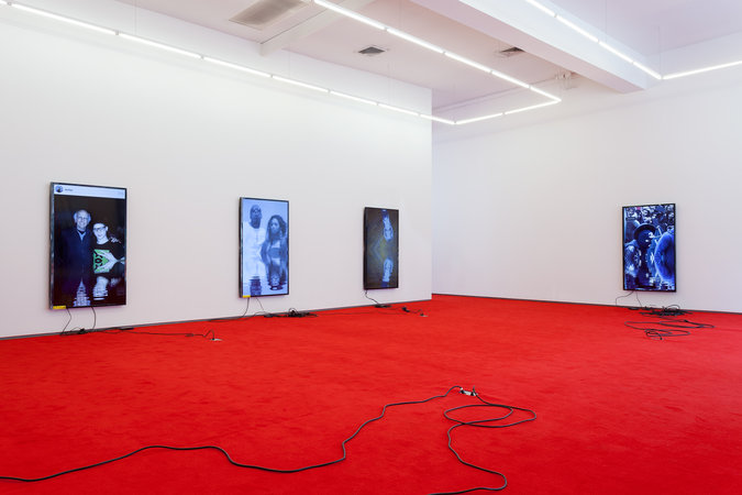 "Installation view, ""tl:dr,"" 2014, Team Gallery, New York. Courtesy of Team Gallery."