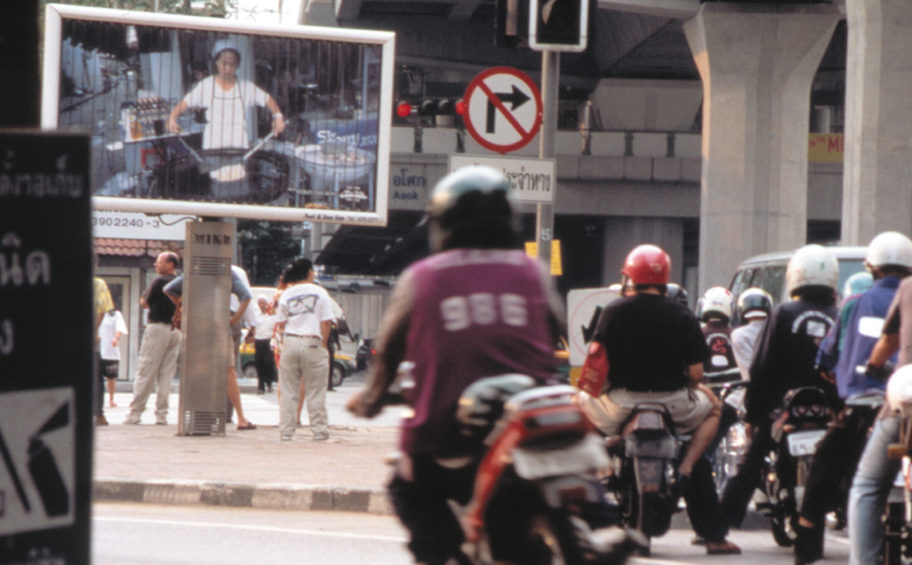 Installation view, Cities on the Move, Bangkok, Thailand . Curated by Hou Hanru and Hans Ulrich Obrist.