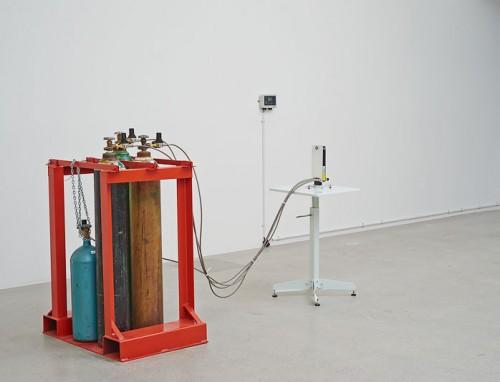 Installation view, Residuals, Sean Raspet at Jessica Silverman Gallery, San Francisco, 2014. Courtesy of Jessica Silverman Gallery.