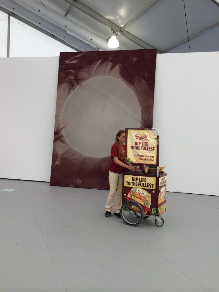 Chris Duncan at Halsey McKay Gallery, Circle, Oakland, 2014.