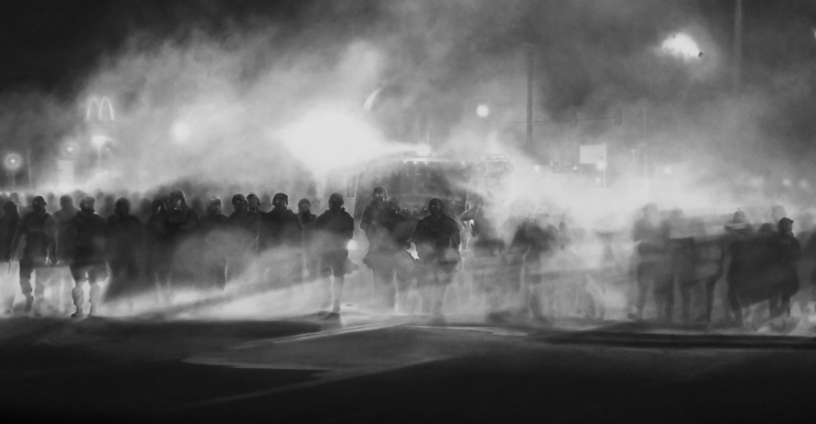 Why a charcoal of police in Ferguson is the most important ...