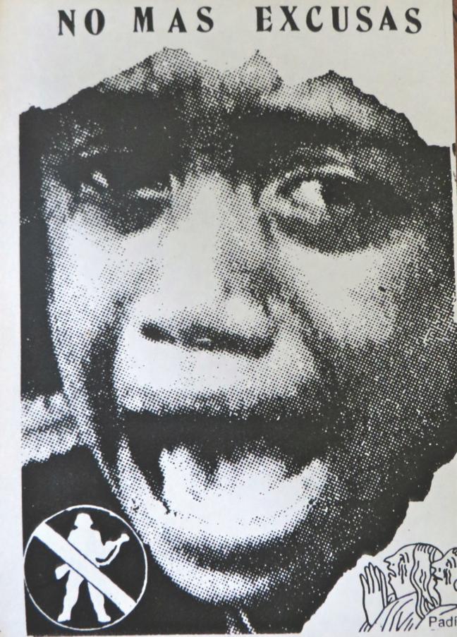 Clemente Padín, No Mas Excusas, Circa 1990. Postcard, Montevideo, Uruguay. Collection of John Held, Jr.