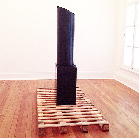 Broken Column, 2014. Installation view at Thomas Dane Gallery.