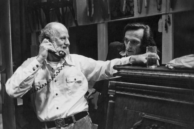 Ferlinghetti & Jack Hirschman.