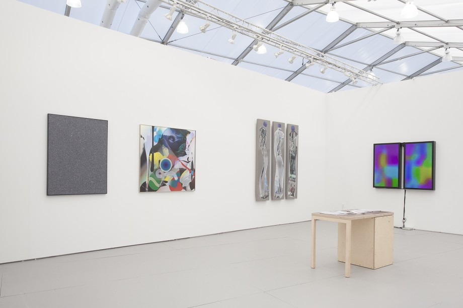 Installation view, Steve Turner Contemporary, Booth B30, UNTITLED., Miami Beach, 2014. Courtesy of Steve Turner Contemporary.