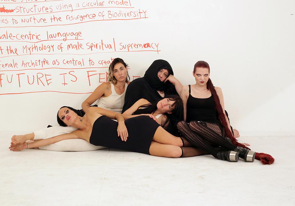 Future Feminists, New York City, 2014. Courtesy of the Hole.