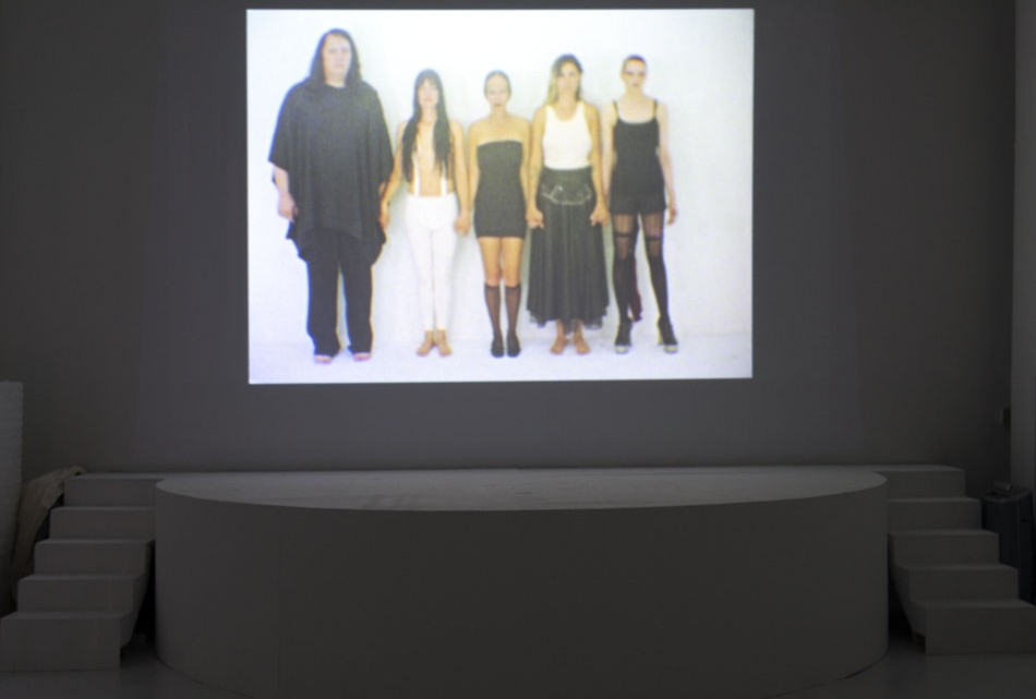 Installation view, Future Feminism at the Hole, New York City, 2014. Courtesy of the Hole.