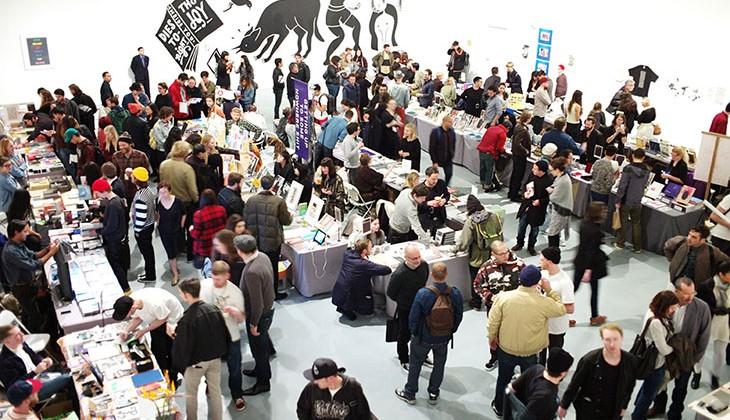 LA Art Book Fair, 2014. Courtesy of the LA Art Book Fair.