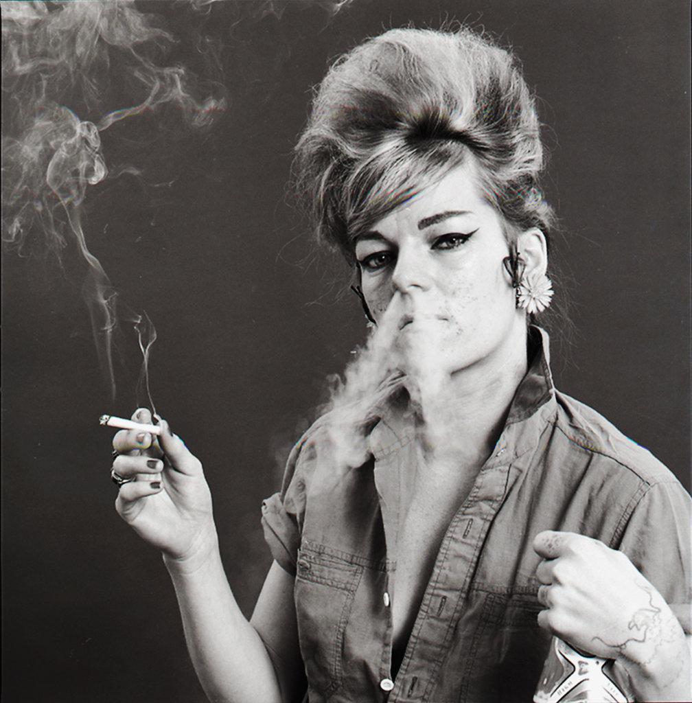 Cookie Mueller, 1981. Photo by Tobi Seftel.