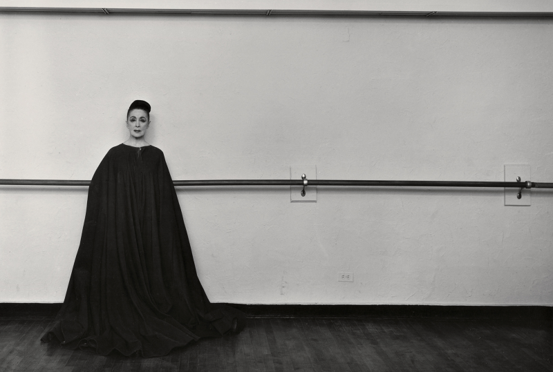 Arnold Newman, photograph of Martha Graham. Courtesy of the Internet.