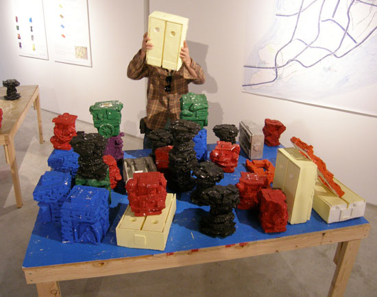 "Installation view, ""The Great Richmond,"" at Staten Island Arts, 2014. Courtesy of Staten Island Arts"
