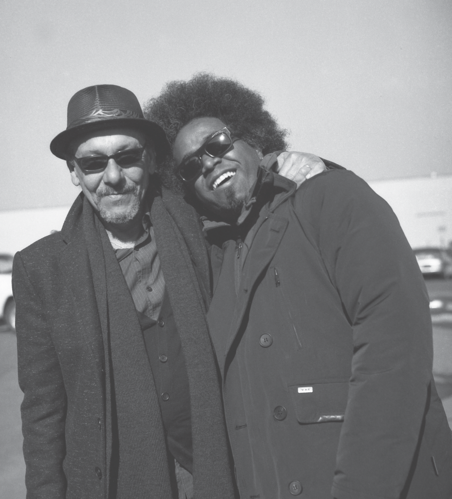 Tony Labat and Alexandre Arrechea, 2013. Photograph by Juan Carlos Alom.