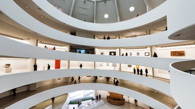Installation view, ZERO: Countdown to Tomorrow, 1950s–60s at the Guggenheim, New York, 2014. Courtesy of the Guggenheim.