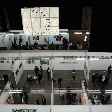 View from above of the 2015 Material Art Fair