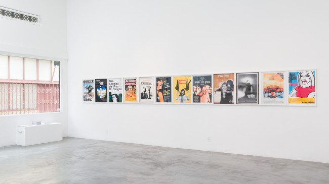 "Daniela Comani, ""My Film History - Daniela Comani's Top 100 Films"", Installation at CJG, January 2015"
