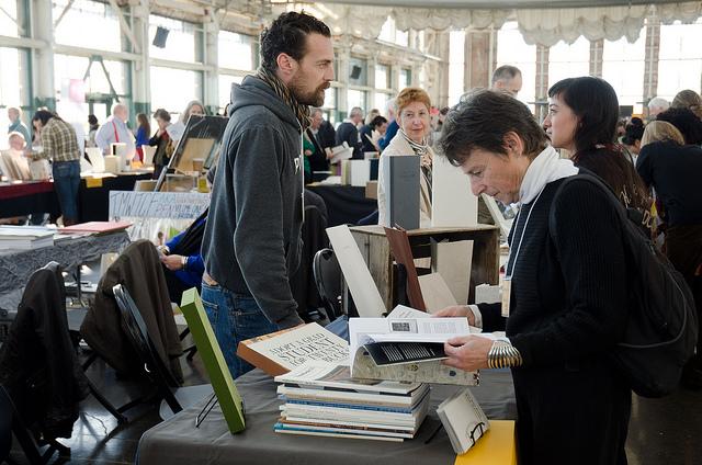 CODEX book fair installation.