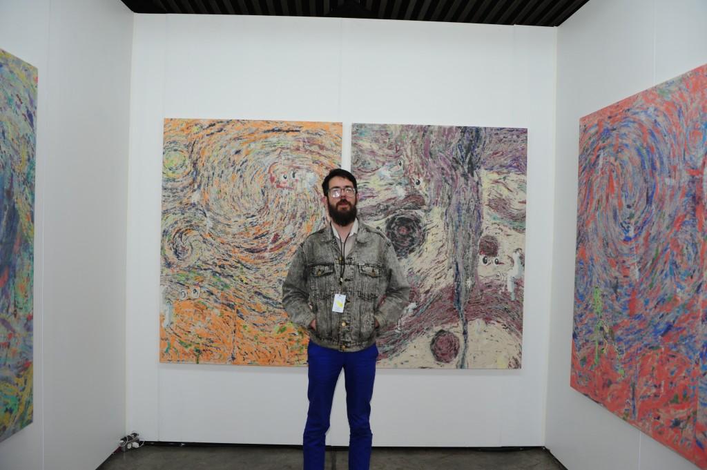 Aaron Harbour of Et al. gallery, San Francisco