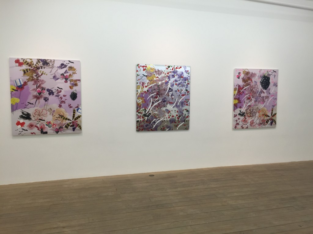 Installation View of Petra Cortright at Foxy Production. Image Credit: Anna Hygelund