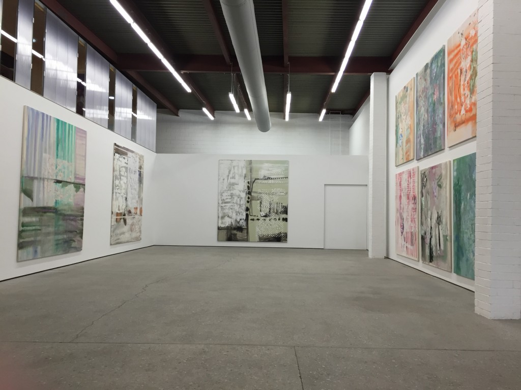 Installation View of Leif Ritchey at Journal Gallery. Image credit: Anna Hygelund