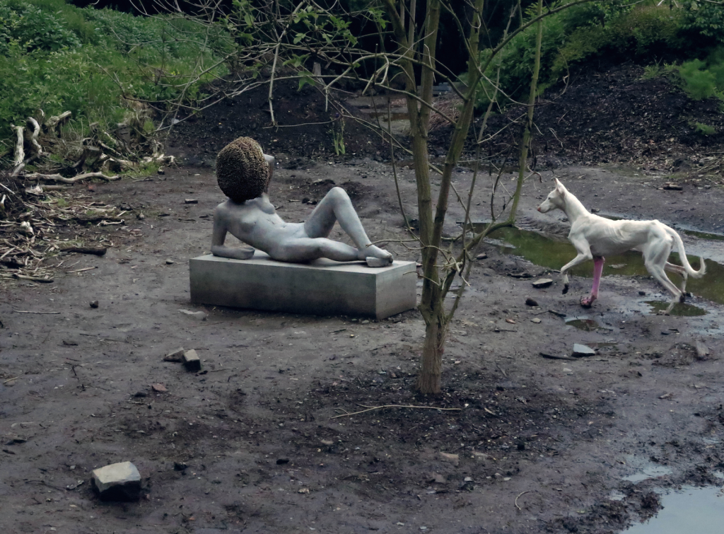 "Pierre Huyghe, ""Untitled,"" 2011–2012. Alive entities and inanimate things, made and not made. Courtesy of the artist; Hauser & Wirth, London; Marian Goodman Gallery, New York; Esther Schipper, Berlin; Anna Lena, Paris."