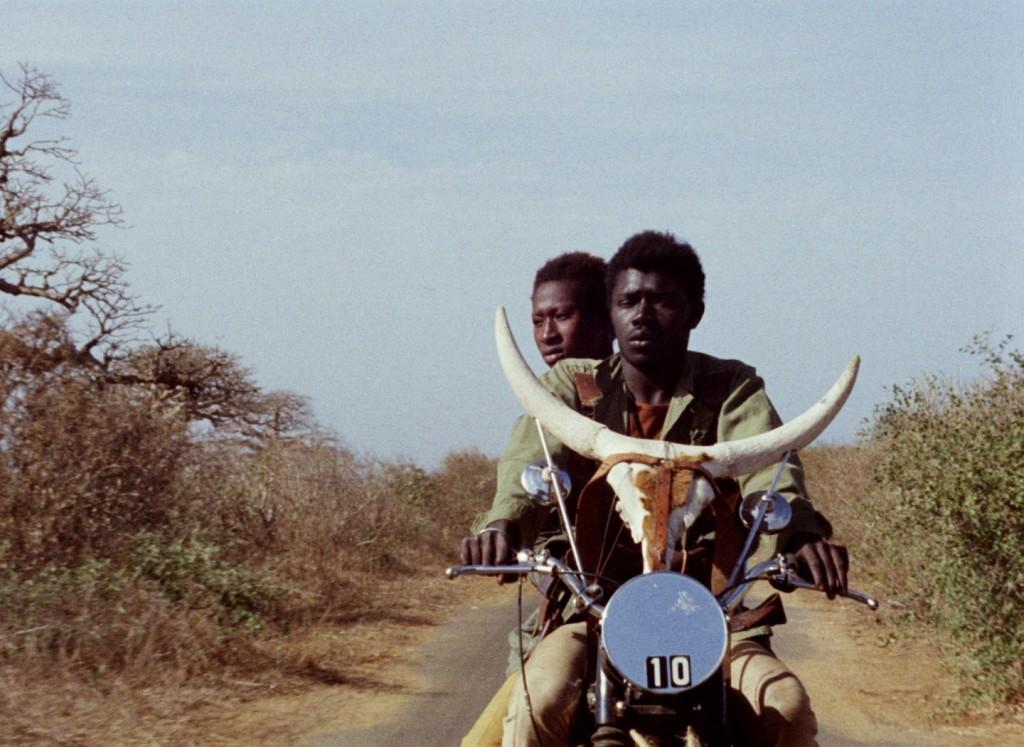 """Still from """"Touki Bouki,"""" 1973. Dir.  Djibril Diop Mambéty. Running time 95 mins."""