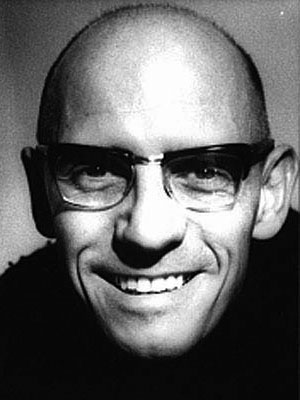 Michel Foucault. Courtesy of the Internet.