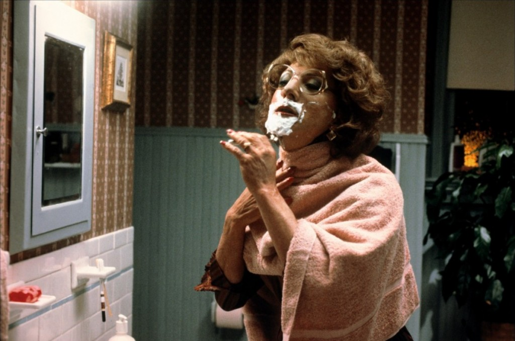 "Still from ""Tootsie,"" film. 1982. Courtesy the Internet."