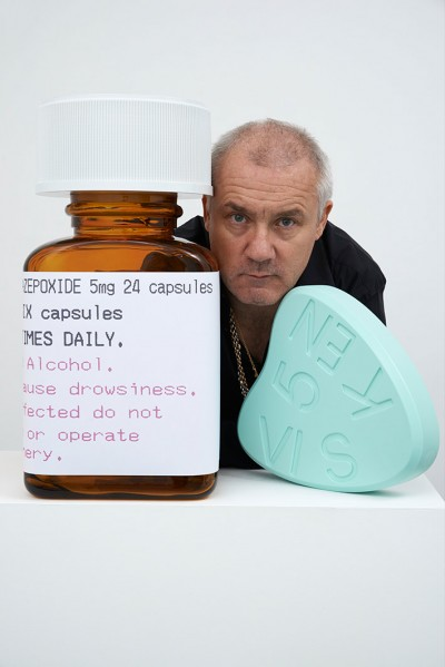 Damien Hirst. Courtesy of the Internet.