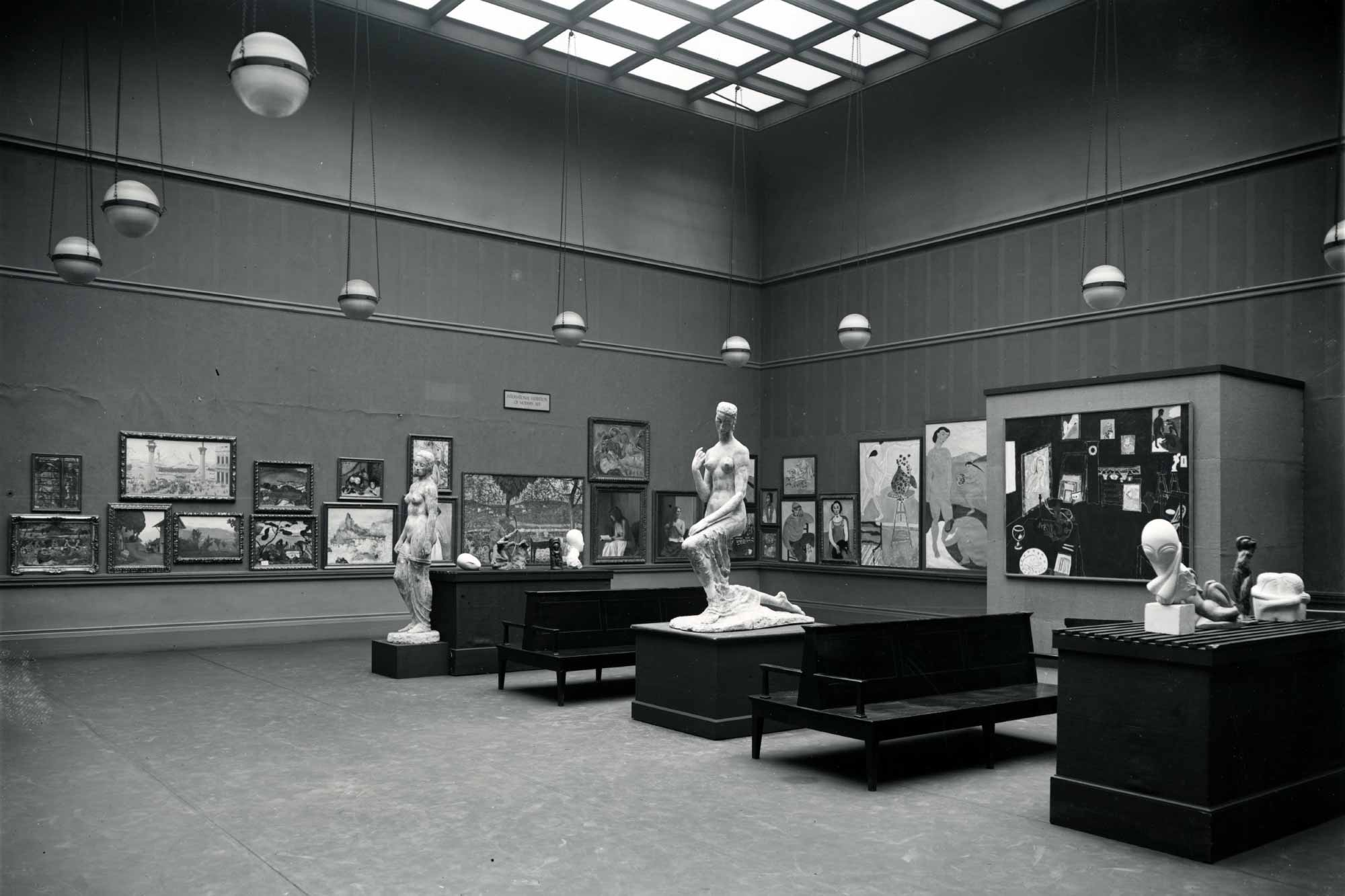 The Armory Show, New York, 1913.