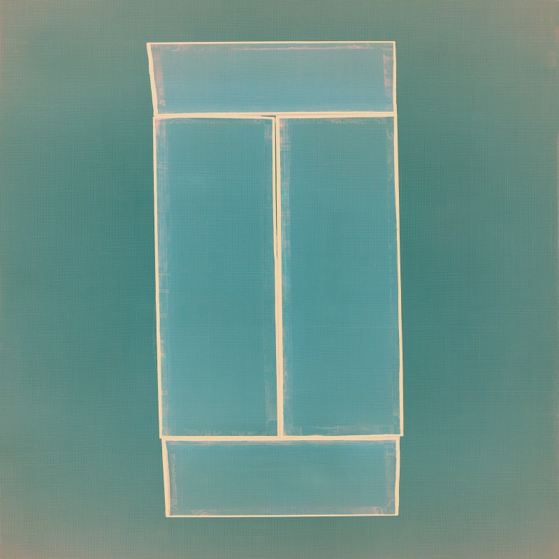 "David Mitchell. ""AB 128,"" 2012. Pigment Print. 32 x 32 inches. Edition of 7. Courtesy of the Dryansky Gallery."
