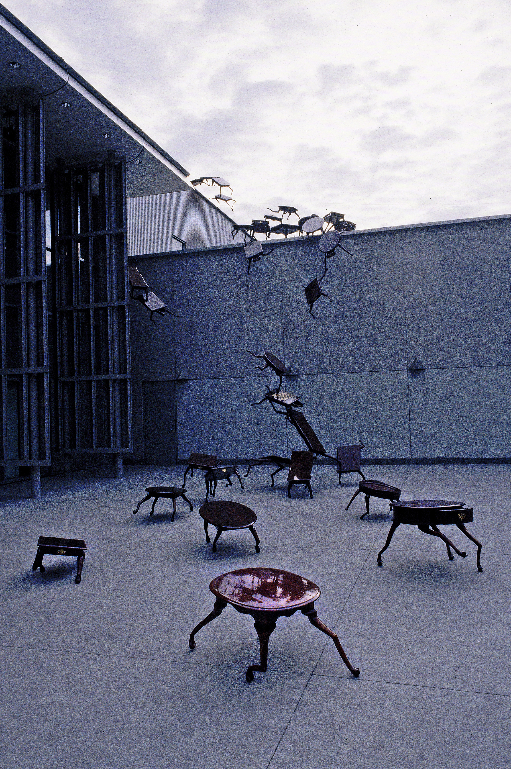 """Marion Gray, Brian Goggin, """"Herd Morality,"""" 1994, printed 2014. Archival pigment print. © Marion Gray. Courtesy of the Oakland Museum of California."""