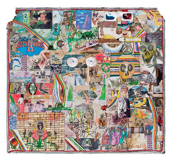 Joe Roberts' LSD WORLDPEACE, published by Unpiano Books.