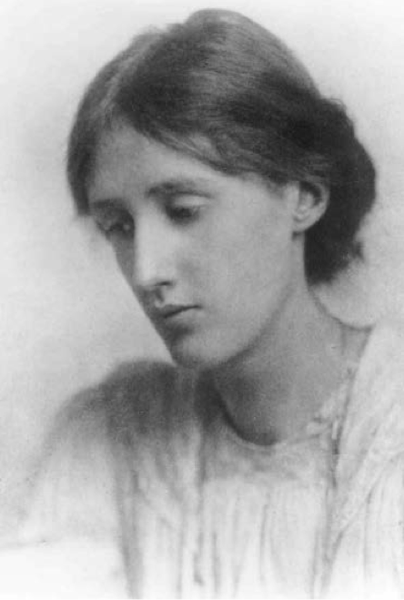 Virginia Woolf, circa 1912.