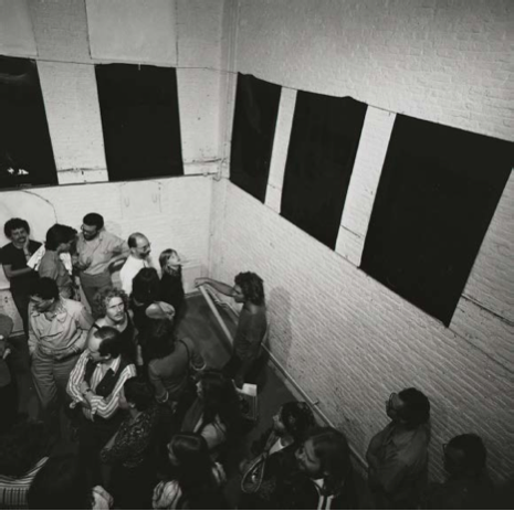 Fototot 1, 1976. Performance documentation from De Appel. Courtesy of the artist.