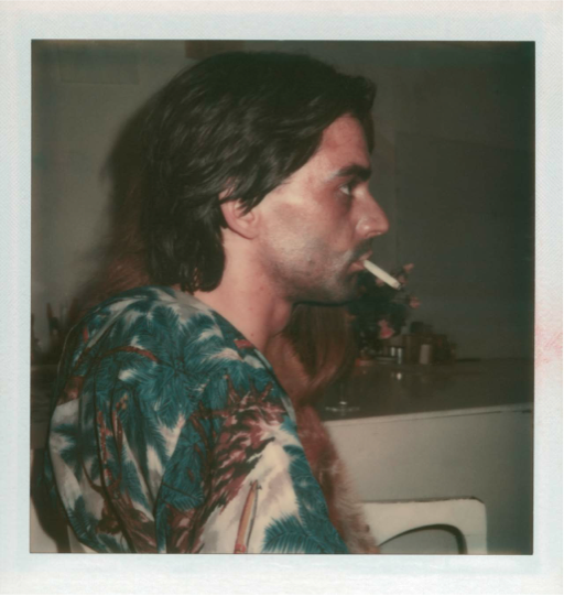 S-he, 1973-74. Auto polaroid. Courtesy of the artist.