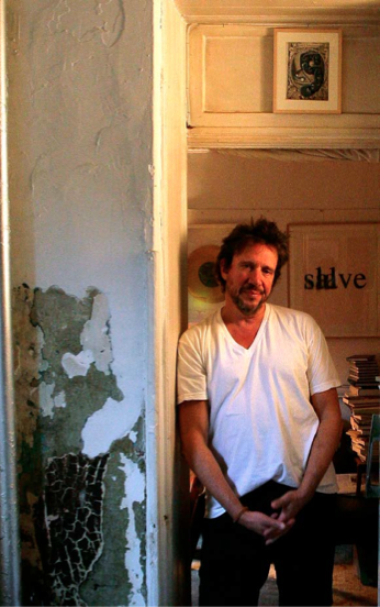 Richard Hell in his New York City apartment, 2014. Photograph by Dean Dempsey.