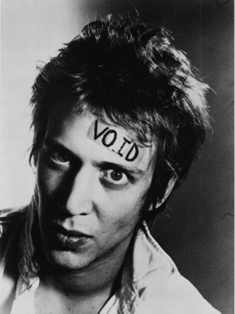 Richard Hell, 1977. Photograph by Kate Simon.