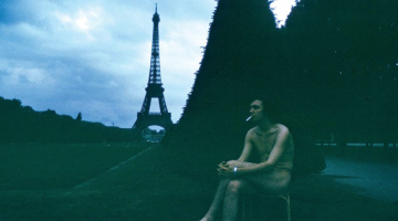 Mark McCloud in Paris, early 1970s. Courtesy of the artist.