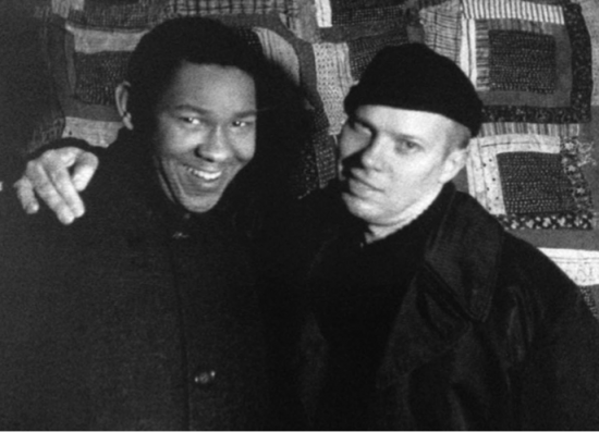 Henry Martin and Ray Johnson. 1964. Photographed by William S. Wilson. Courtesy of William S. Wilson.