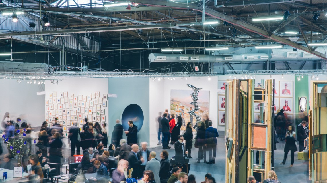 Image courtesy of Roberto Chamorro and The Armory Show.