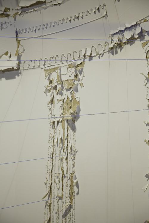 "Jesse Potts, ""Re-Coil Temple L'amore,"" (2012). 40' x 25' x 20'. Image courtesy of the artist."