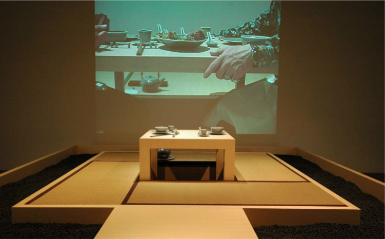 The Dining Project, 1997. Installation view of Duologue. Museum of Contemporary Art Taipei, Taiwan, 2007. Collection of JUT Museum Pre-Opening Office, Taiwan. Photograph by Lee Studio. Courtesy of the Mori Art Museum, Japan.