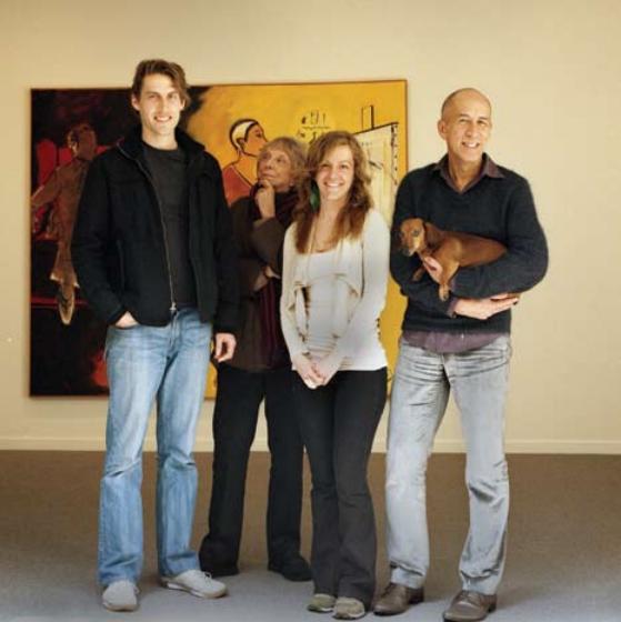 Travis Collinson, Paule Anglim, Monica La Staiti, and Ed Gilbert (Christine Ancalmo not present)
