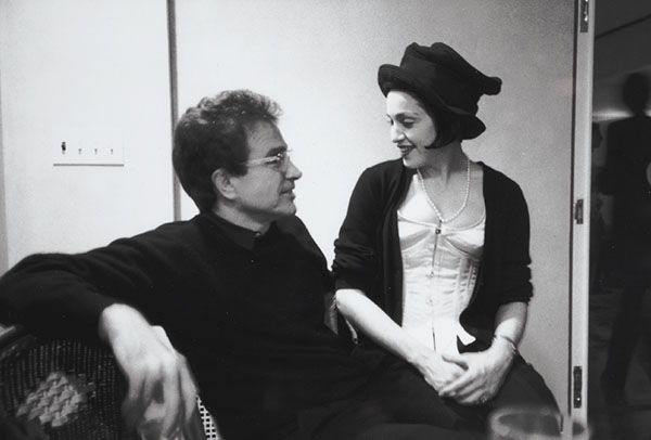 Warren Beatty and Madonna at Francesco Clemente's NYE party in 1990; © Allen Ginsberg LLC, 2014.